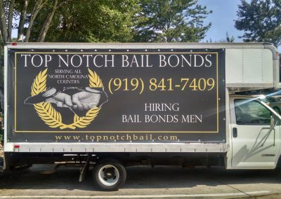 Top Notch Bail Bonds Banners
