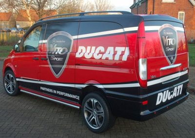 Vehicle Wrap Ducati
