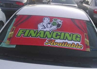 Financing Available Vehicle